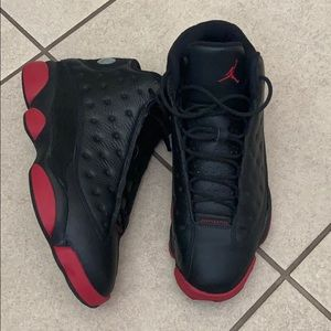 Jordan 13 Red and Black. Authentic‼️